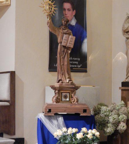 Peregrynacja relikwii św. Bernardyna ze Sieny